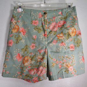 Jones New York Floral Print shorts